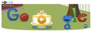 Celebrate Google's 15th Birthday!